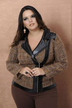 Program Moda Feminina Plus Size.....i love this coat