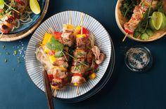 Als einfaches und vor allem einfaches Gericht sind die Paprikaspieße mit Schweinefilet und Korianderglasnudeln ideal für einen vitalen Start ins neue Jahr.