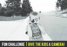 Challenge: Give the Kids the Camera | Pretty Presets for Lightroom