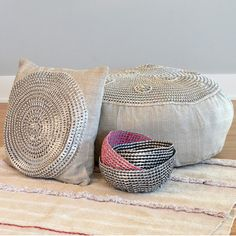 Turning waste into beauty! These ingenious hand crocheted baskets are made using recycled aluminum soda can tabs. Helping keep mother earth a bit cleaner this process is linked to an unwavering commitment to preserve the delicate tropical eco systems that surround Honduras by recycling waste products and turning them into beautiful and useful objects.  These unique baskets are hand-made recycled functional art for home or office. - The opportunity to contribute directly to the preservation…