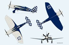 Modified Hawker Sea Fury Unlimited Air Racer