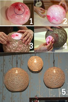 Super home diy design tips 20 Ideas Diy Design, Rustic Design, Interior Design, Diy Para A Casa, Balloon Crafts, Diy Y Manualidades, Creation Deco, Diy Home Crafts, Rope Crafts
