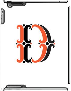 """""""D"""" by Jessica Hische for the iPad 3rd gen Deflector"""