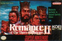 Romance of the Three Kingdoms 2 SNES