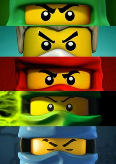 Ninjago all seasons
