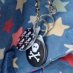 Skull Pirate Keyring £2.50