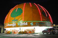 Orange World - The worlds largest orange in Kissimmee, Florida