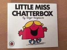 Little Miss Chatterbox Little Miss Books, Decor, Dekoration, Decoration