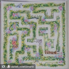 Coloring Book Art Adult Secret Garden Pages Enchanted Forest Johanna Basford