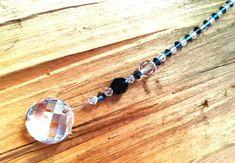 April Birthstone Swarovski Crystal Suncatcher Swarovski Car Charm Sun Catcher Prism Maker Rainbow Maker Hanging Crystal  sun catcher for car by AuroraCrystalPassion on Etsy