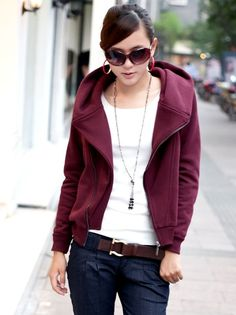 Women Hoodie Jacket Style for Winter