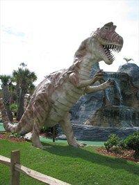 Dinosaur Adventures Golf Dinosaurs