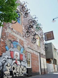 Street Art - Sol Square bikes