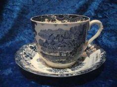 Royal Worcester Avon Scenes Breakfast Cup & Saucer