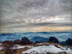 Nature  #mountains #himalayas #hills #snow #hikingadventures #gopro #goproindia #hippieinhills #jibhi #jibhihomestead #clouds #newyear #igers #nature #gogreen #writer #scriptwriting #photography #traveldiaries #home #love #adventure