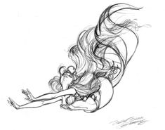 Mermaid sketch, mermaid drawings, my drawings, mermaid art, mermaid Mermaid Sketch, Mermaid Drawings, Mermaid Tattoos, Mermaid Art, Disney Drawings, Siren Tattoo, Mermaid Illustration, Mermaid Swimming, Disney Concept Art