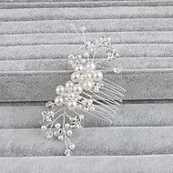 Women's+Pearl+Headpiece-Wedding+/+Special+Occasion+/+Casual+/+Office+&+Career+/+Outdoor+Hair+Combs+1+Piece+–+AUD+$+15.72