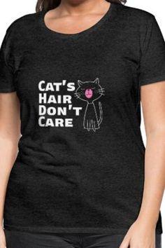 Du liebst Katzen?  Jetzt klicken und Inspirieren lassen! Du suchst Katzen T Shirts? Lustige Katzen Shirts? T Shirt Sprüche mit Katzen oder such einfach nur Inspiration für dein eigenes Katzen Shirt? Dann bist du hier richtig! Viel Spaß beim stöbern! #Katze #Katze Shirt #Lustiges Katzen Shirt #DIY #Katzen Shirt #Katzen Liebe #Katze lustig #Katzen Haare #Cat Shirt Shirts & Tops, Shirt Diy, Cat Hair, Slogan, T Shirts For Women, Cats, Inspiration, Fashion, Cat T Shirt
