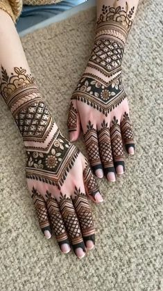 Latest Henna Designs, Floral Henna Designs, Beginner Henna Designs, Back Hand Mehndi Designs, Mehndi Designs 2018, Stylish Mehndi Designs, Mehndi Designs For Girls, Wedding Mehndi Designs, Henna Designs Easy