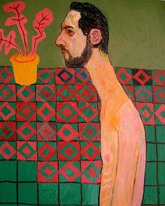 Meirion Alan Ginsberg,  Profile 50cm x 40cm Oil on Canvas