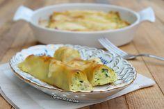 Cannelloni con salsiccia e zucchine