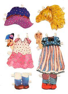 (⑅ ॣ•͈ᴗ•͈ ॣ)                                                            ✄Childhood doll Amanda, early 1980s - papercat - Picasa Albums Web