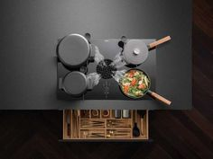 The cooktop extractor specialist BORA supplies new mannequin BORA X Pure earlier than: with putting Grid design and minimalist working construction the hob fan performs with opposites – and h… Larder Cupboard, Cupboard Ideas, Plywood Kitchen, Glazed Glass, Slider, Oak Shelves, Shaker Kitchen, Key Kitchen, Bespoke Kitchens