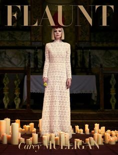 Flaunt Magazine Issue 127 Carey Mulligan photographed by Stevie and Mada