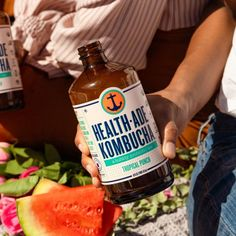 Fun health fact: Probiotics are beneficial to gut health, and our kombucha is full of them! Along with 100% real food and organic cold-pressed flavor to keep your gut healthy and your taste buds happy. 😋 Health Diet, Health And Nutrition, Fun Health Facts, Kombucha Flavors, Organic Kombucha, Real Food Recipes, Healthy Recipes, Cucumber Water, Probiotic Foods