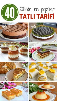 10 Minuets : In this list of most admired stylish dessert recipes! Most Popular Desserts, Cauliflower Risotto, Turkish Recipes, Iftar, Bon Appetit, Great Recipes, Delicious Recipes, Deserts, Dessert Recipes