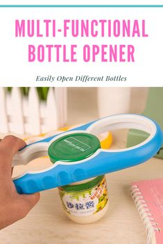 This Multifunctional Bottle Opener is made from food grade plastic so you can save for your next use. It is Multi-functional and durable for use. It fits for many sizes of bottle caps. You can open the lids without injuring your hands or using too much force. Best Kitchen Gadget Cool Kitchen Gadgets, Cool Kitchens, Plastic Bottle Caps, Kitchen Sale, Food Grade, Multifunctional, Can Opener, Bottle Opener, Hands