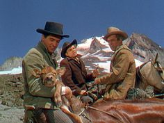 BEND OF THE RIVER PHOTOS  Bend of the River, 1952 (: Rock Hudson, Arthur Kennedy, James Stewart