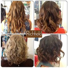"""Summer is definitely in the H...air this week @ Richfield Hairdressing. Using the new """"Spray A Porter"""" product by Kerastase, Tracey & Cerise have created some beautiful tousled curls. #richfieldhairdressing #hair #curls"""