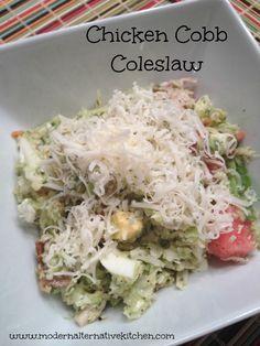 chicken cobb coleslaw