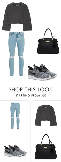"""outfit15"" by matildegiorgi14 on Polyvore featuring moda, Topman, adidas Originals e NIKE"