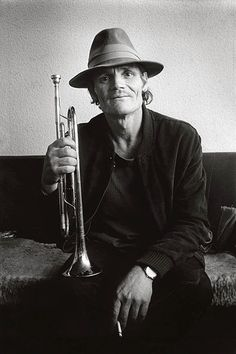"""Chet Baker -- Whenever I hear him singing """"My Funny Valentine,"""" it makes me swoon!  Oh, and his trumpet playing..."""
