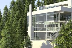 richard meier douglas house - Google Search