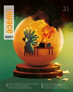 Acemi edebiyat dergisi kapak illüstrasyonu sayı-21