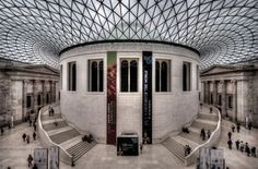 I want to go here soooo bad! The British Museum, London, England. Great Places, Places To See, Places Ive Been, Things To Do In London, British Museum, Walking Tour, Around The Worlds, Tours, Architecture