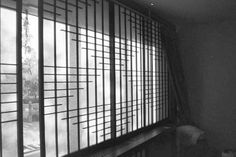 Shoji Fusuma Design Grill Door Design, Grills, Buildings, Korean, Industrial, Room Decor, Decor Ideas, House Design, Japanese