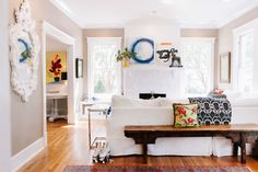 House Tour: A Vintage Modern Nashville Home | Apartment Therapy