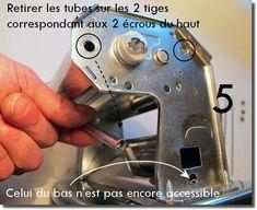 Démontage et remontage d'une machine à pâte Imperia Le Tube, Console, Consoles