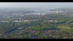 Germany - Stadt Kiel - Dokumentar Panorama Video - Video von meiner Droh...
