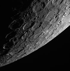 Another day, another beautiful view of Mercury's horizon. In this scene, which was acquired looking from the shadows toward the sunlit side of the planet, a 120-km (75 mi.) impact crater stands out near the center. Emanating from this unnamed crater are striking chains of secondary craters, which gouged linear tracks radially away from the crater. While this crater is not especially fresh (its rays have faded into the background), it does appear to have more prominent secondary crater chains…