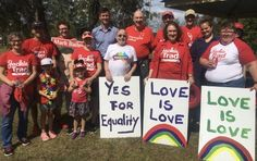 A fantastic Sunday out in support of marriage equality 😊❤️🌈