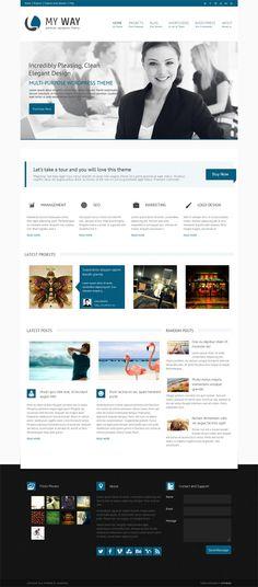 MyWay, Free WordPress Corporate Business Theme