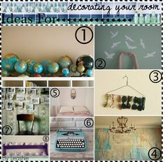 """Ideas for decorating your room ▲"" by the-hipster-tip-sisters ❤ liked on Polyvore"