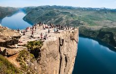 Preikestolen, Norvège