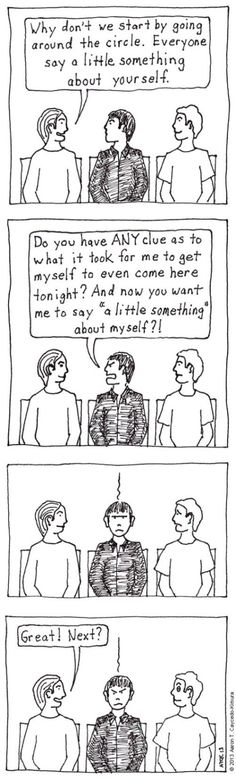 I Cartoon about My Introversion and Myers Briggs Type 605 Infj Infp, Intp, Introvert Quotes, Intj Personality, Something About You, Feeling Alone, I Can Relate, Decir No, Thoughts