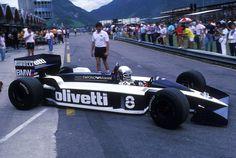 Gran Premio del Brasile 1986, Elio De Angelis: Brabham
